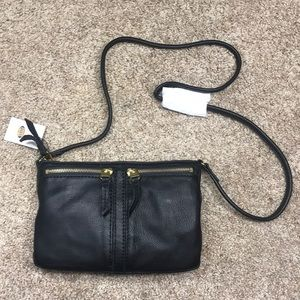 Fossil Bags - Fossil Erin Small TopZip Black Purse